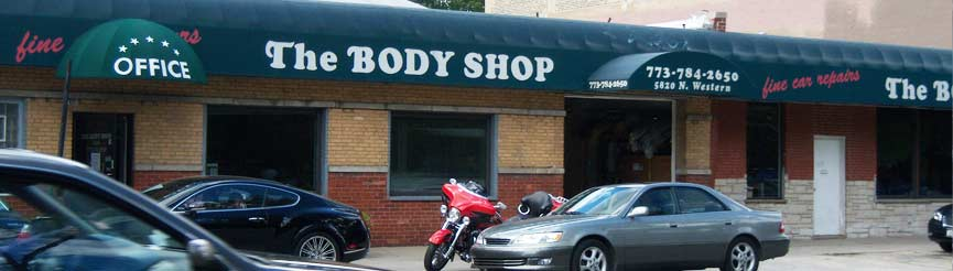 The body shop of chicago
